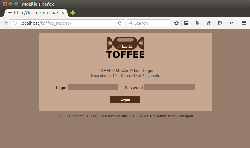 TOFFEE_Mocha login [CDN]