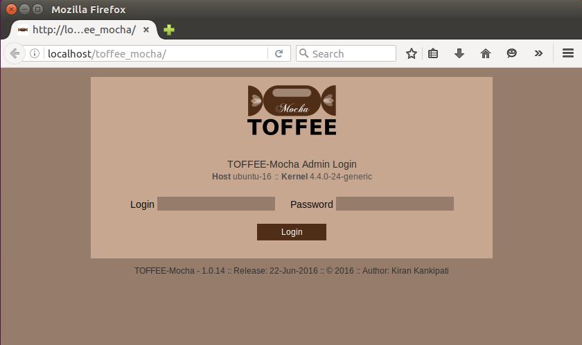 TOFFEE_Mocha login [CDN]