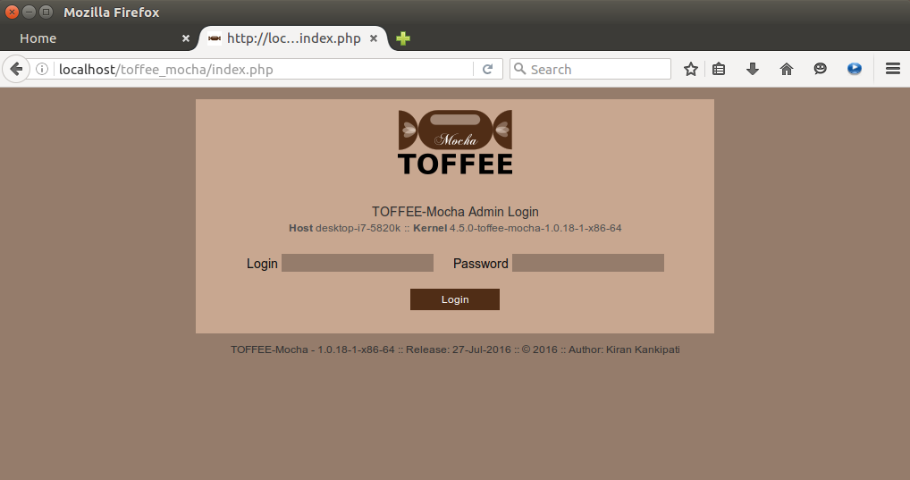 1 TOFFEE-Mocha-1.0.18-1-x86_64 WAN Emulator Login [CDN]