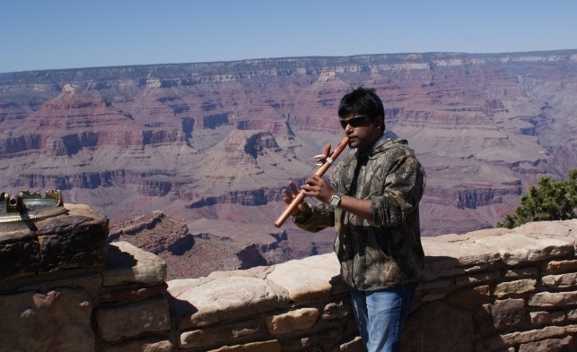 Kiran Kankipati US Grand Canyon Sedona Trip - Native American Flute [CDN]