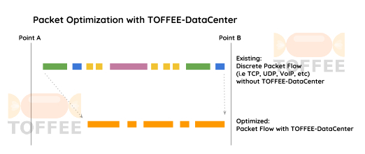 Packet Optimization with TOFFEE-DataCenter [CDN]