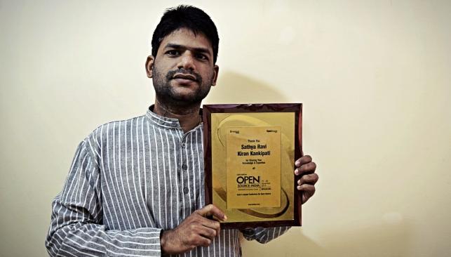 Kiran Kankipati OSIDays Award [CDN]