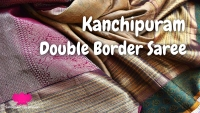 Kanchipuram Double Border Saree - VLOG