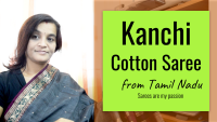 Kanchi Cotton Saree - VLOG