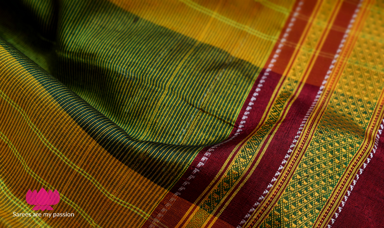 03 Ilkal Cotton Sarees - Sarees are my passion