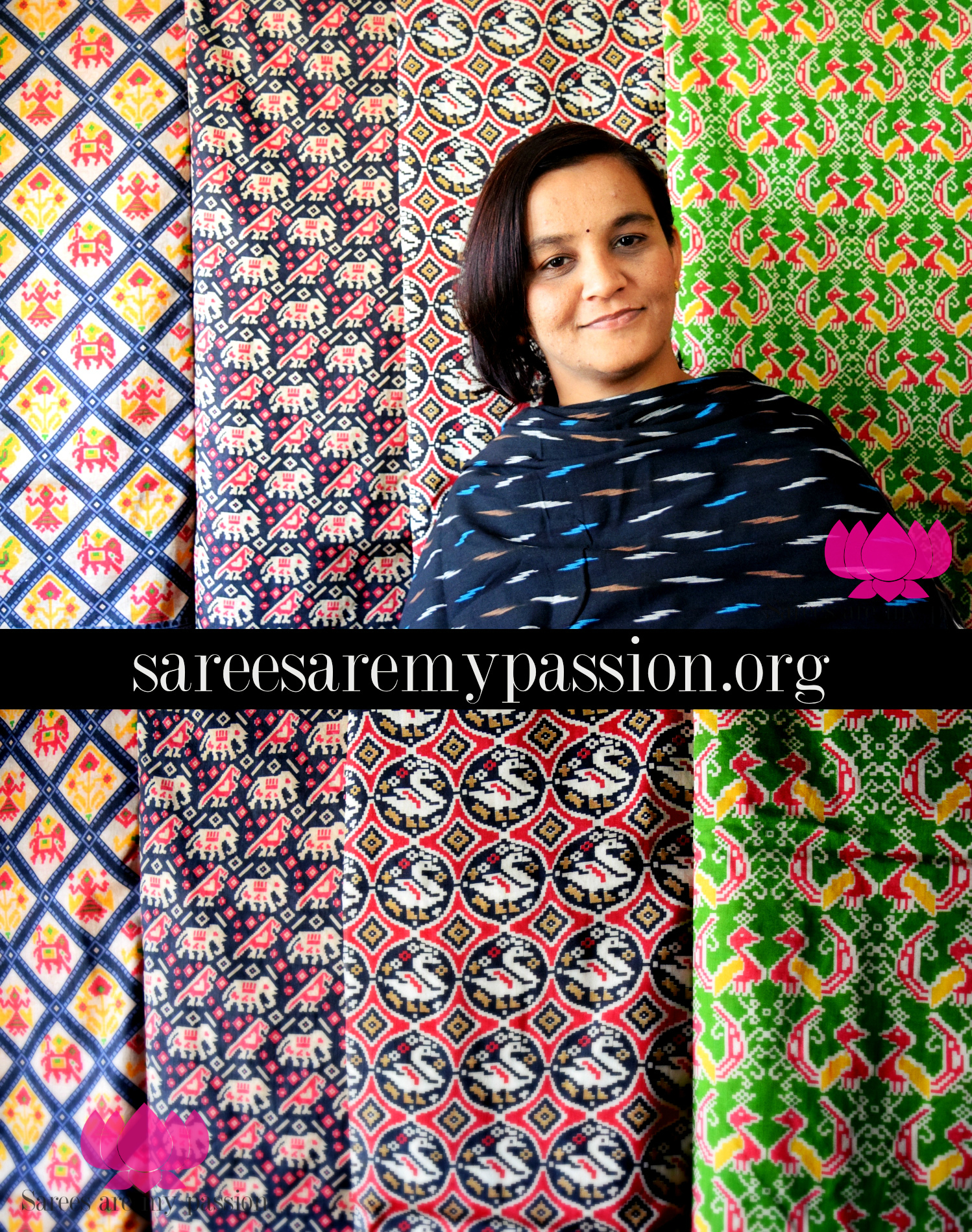 sarees are my passion Pochampally and Tussar Ikat