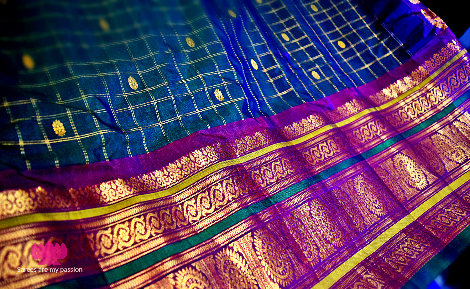 Sarees are my Passion Gadwal Silk Saree