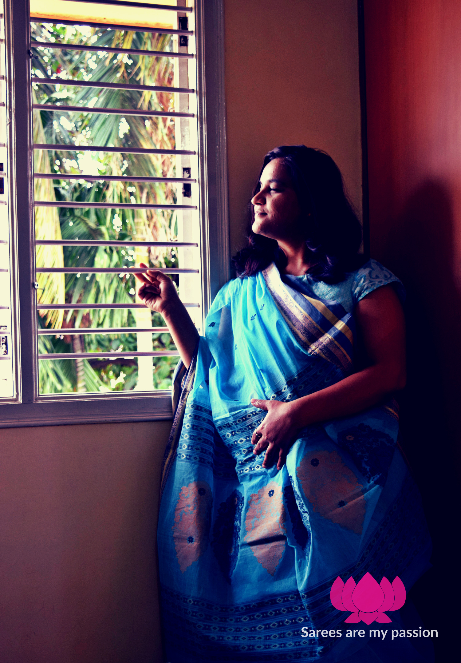 Sarees are my passion - Bengal Cotton