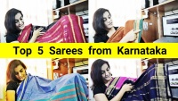 Top 5 Sarees from Karnataka